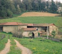 Une ferme typique des Monts du Lyonnais