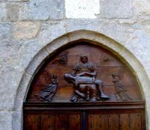 Piéta de la chapelle du Mortier