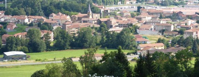 Vue d'ensemble Sainte Foy l'Argentière